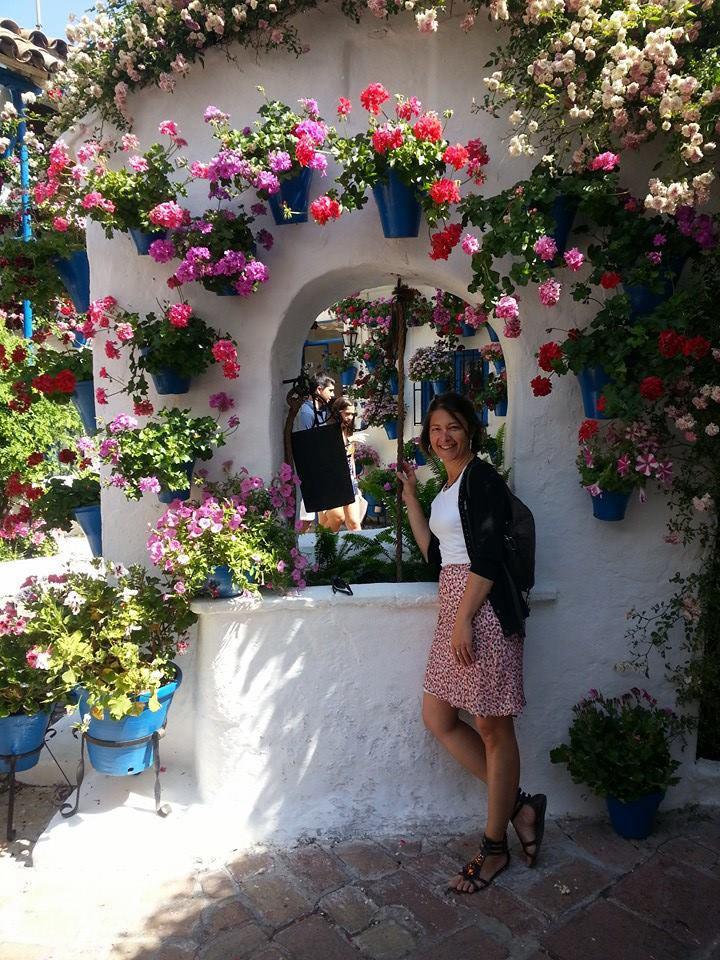 Trabajando y disfrutando de mi ciudad. Córdoba. Los patios. Mayo 2013